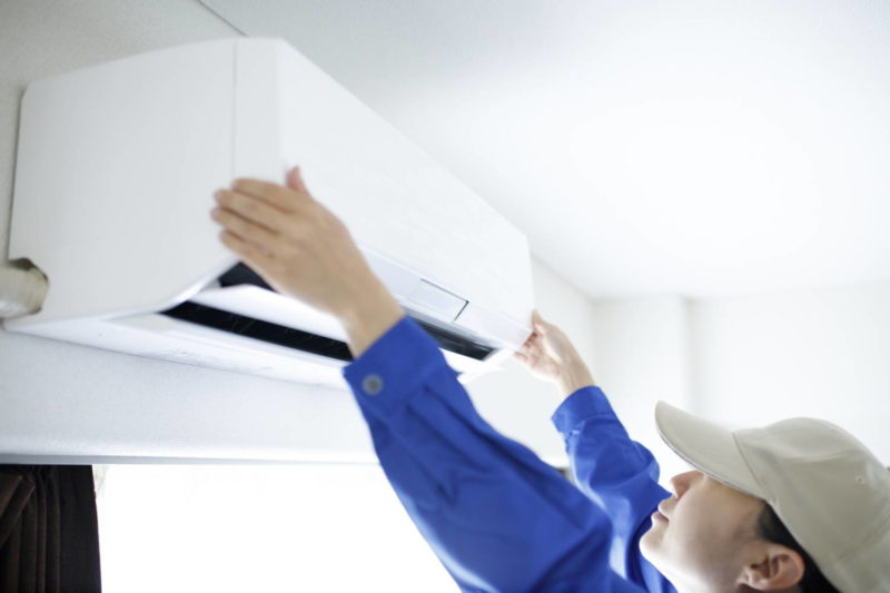 エアコン内部の掃除