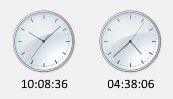 アナログ腕時計の針 最も美しく見える時刻