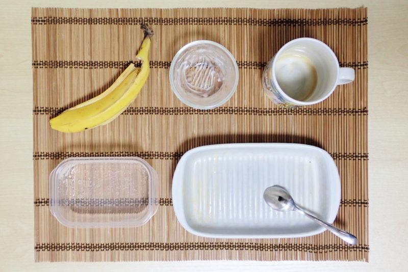 健康志向・効率重視の30代男子が作る朝食メニューを完食