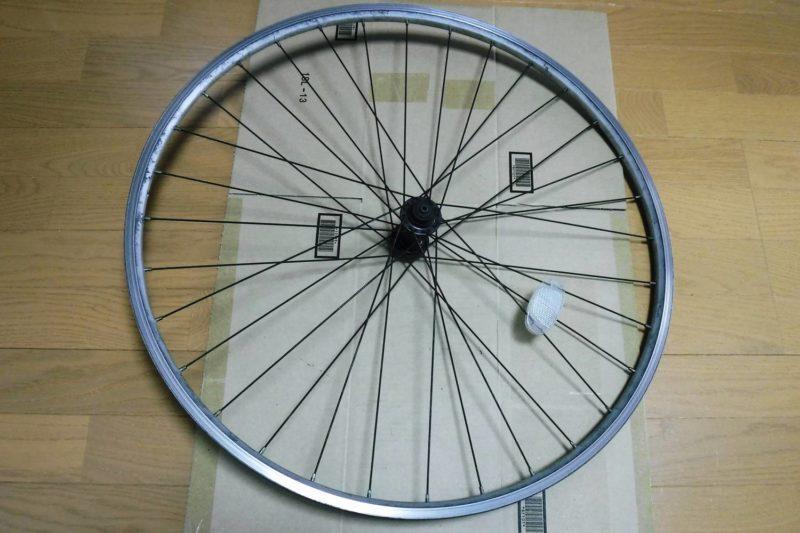 クロスバイク タイヤ・チューブ交換