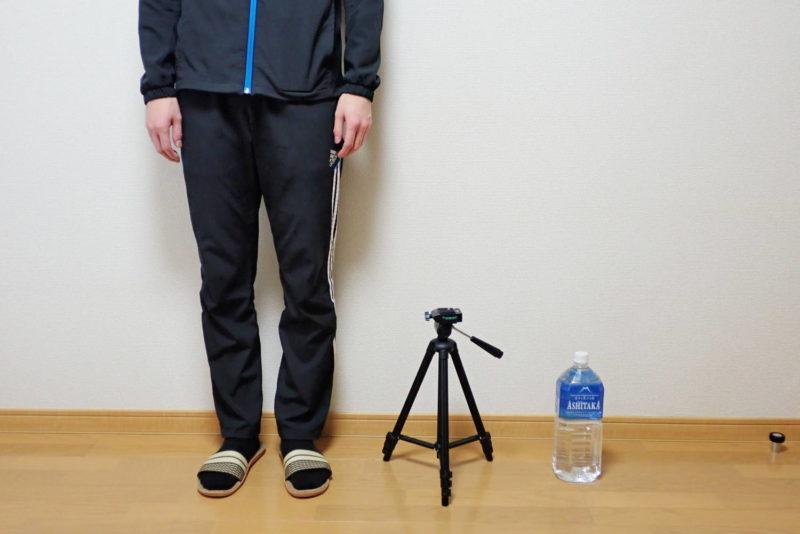 HAKUBA カメラ三脚 W-312 最小伸縮時の高さ