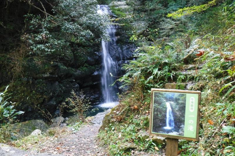 和泉葛城山 渓流・滝 一の滝