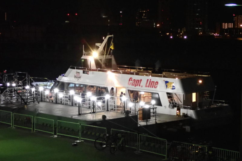 海遊館イルミネーション シャトル船 キャプテンライン