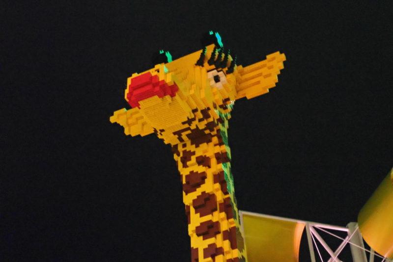 レゴランド キリン像
