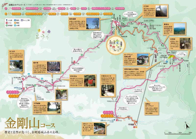 金剛山 マップ