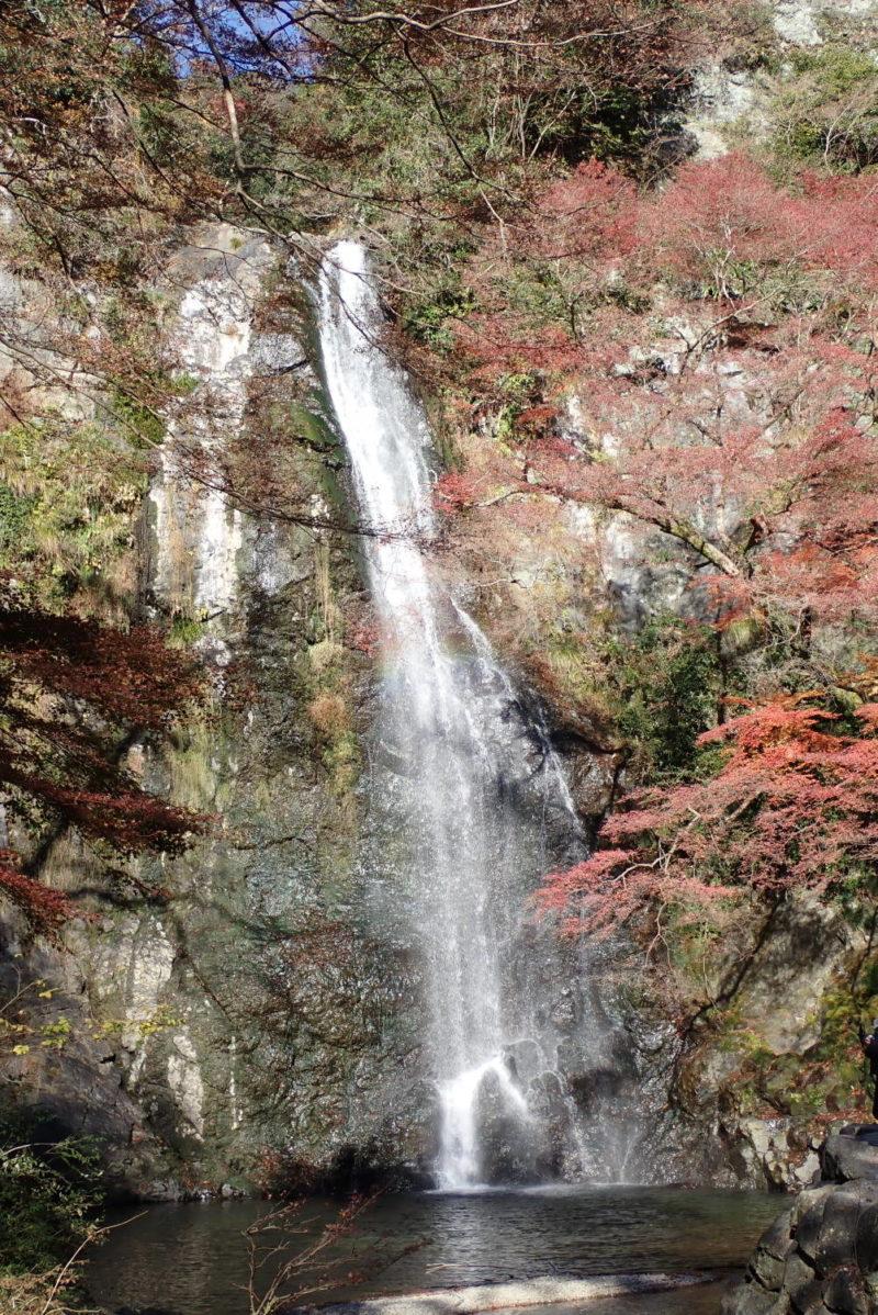 箕面山ハイキング 箕面大滝