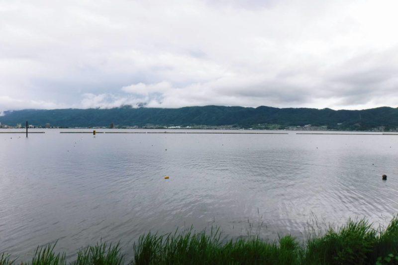 諏訪大社 下社・慈雲寺・諏訪湖