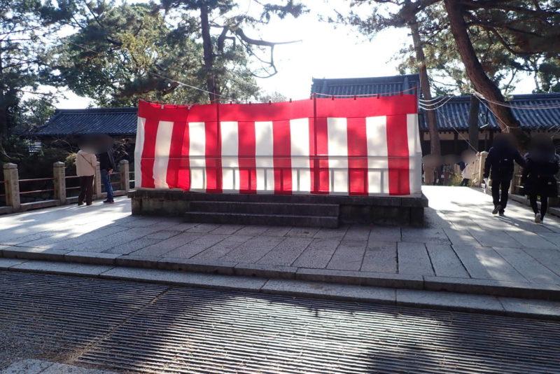 住吉大社 石舞台
