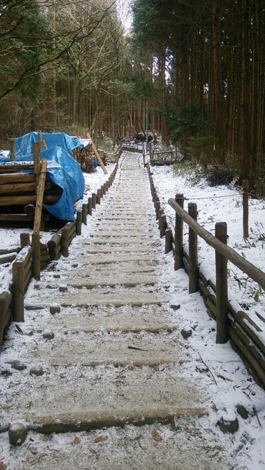 冬の金剛山